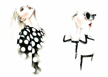 Fashion-illustration-black-ideas